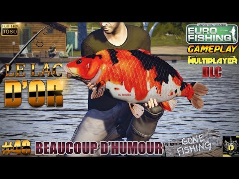 EURO FISHING #48 GAMEPLAY DLC Le Lac d'or The Golden Lake CA