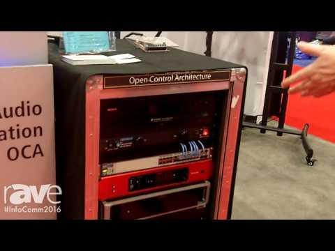 InfoComm 2016: OCA Alliance Explains AES70 Remote Audio Control Over Computer Networks