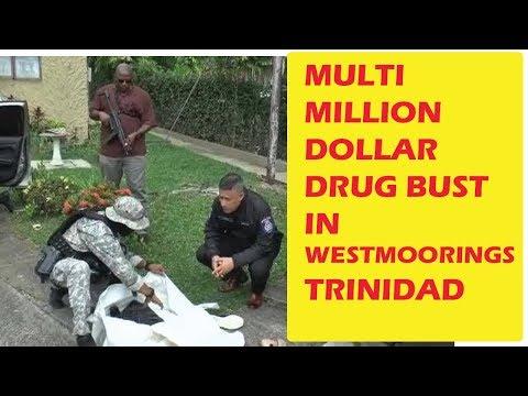 Multimillion Dollar Drug Bust at Westmoorings, Trinidad