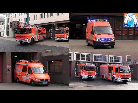 Berufsfeuerwehr Stuttgart (Zusammenschnitt)