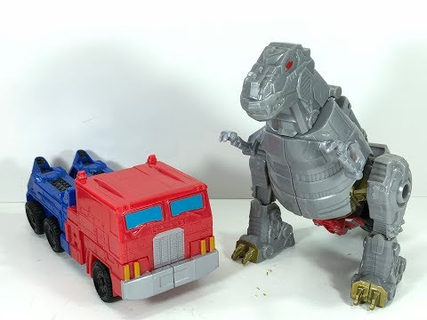 Transformers Generations Project Storm Optimus Prime Grimlock Chefatron Review