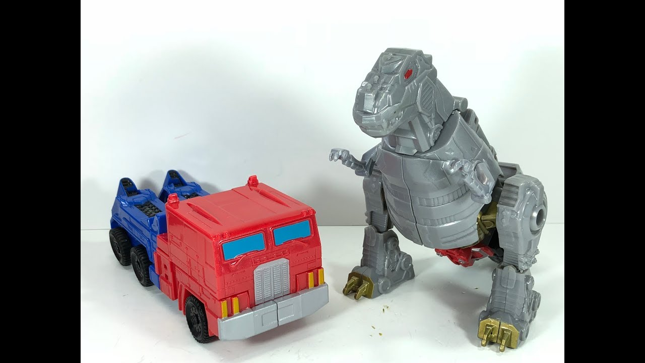Transformers Generations Project Storm Optimus Prime Grimlock Chefatron Toy Review