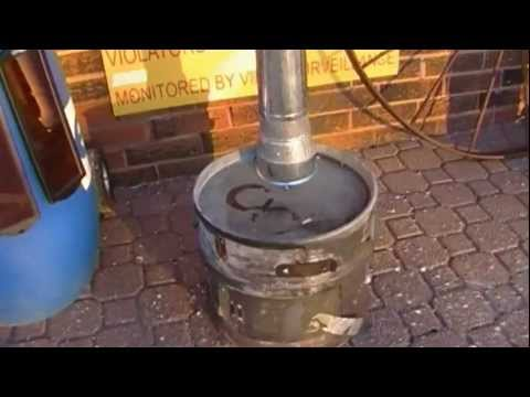 Home Made Wood Stove - Urban Survival