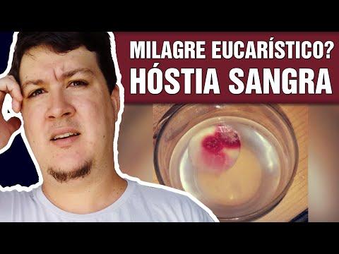 Milagre Eucarístico em Kearns-EUA! Hóstia está Sangrando  (#275 - Notícias Assombradas)