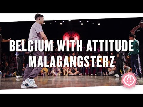 BELGIUM WITH ATTITUDE 🍑 MALAGANGSTERZ • Top16 2018