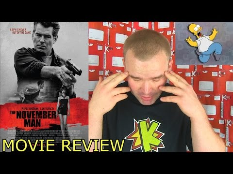 The November Man Movie Review by With a K Review