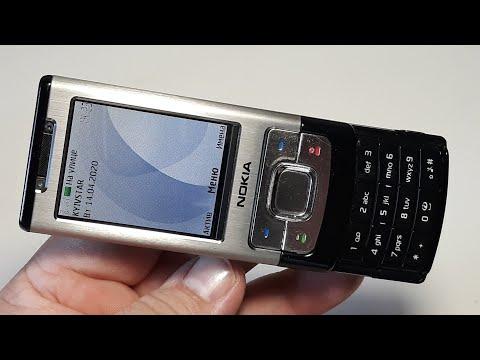Nokia 6500-s. Telefon Aus Deutschland. Капсула времени с русским языком 2008 год. Ретро телефон