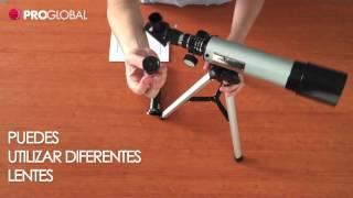 Como Armar Telescopio Astronómico Monocular 360x50 mm HD - Proglobal Chile