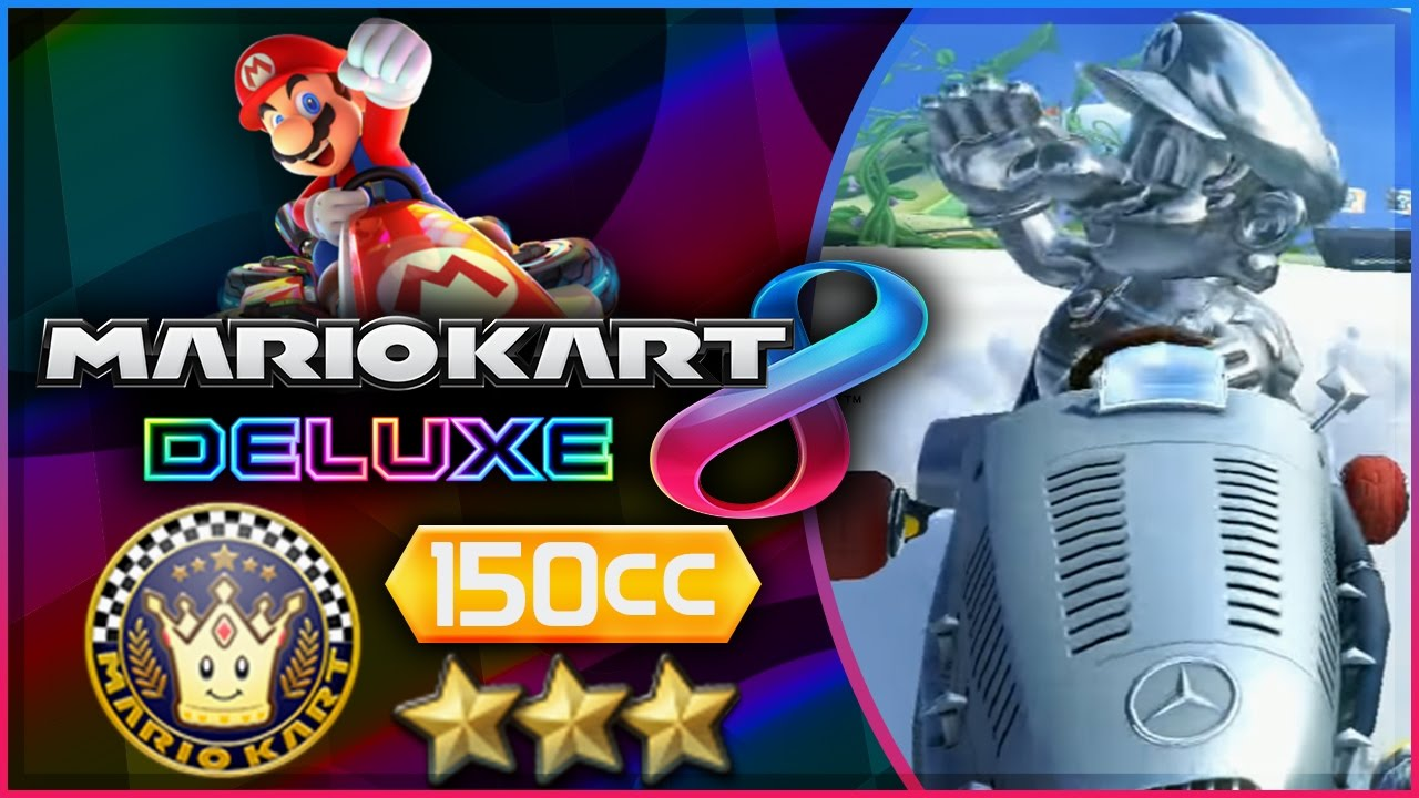Mario Kart 8 Deluxe Part 7 Special Cup 150cc Triple Star