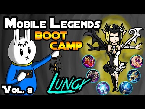 LUNOX - TIPS, ITEMS, SPELL, EMBLEMS, TRICKS, AND GUIDE - MGL MOBILE LEGENDS BOOT CAMP VOLUME 8