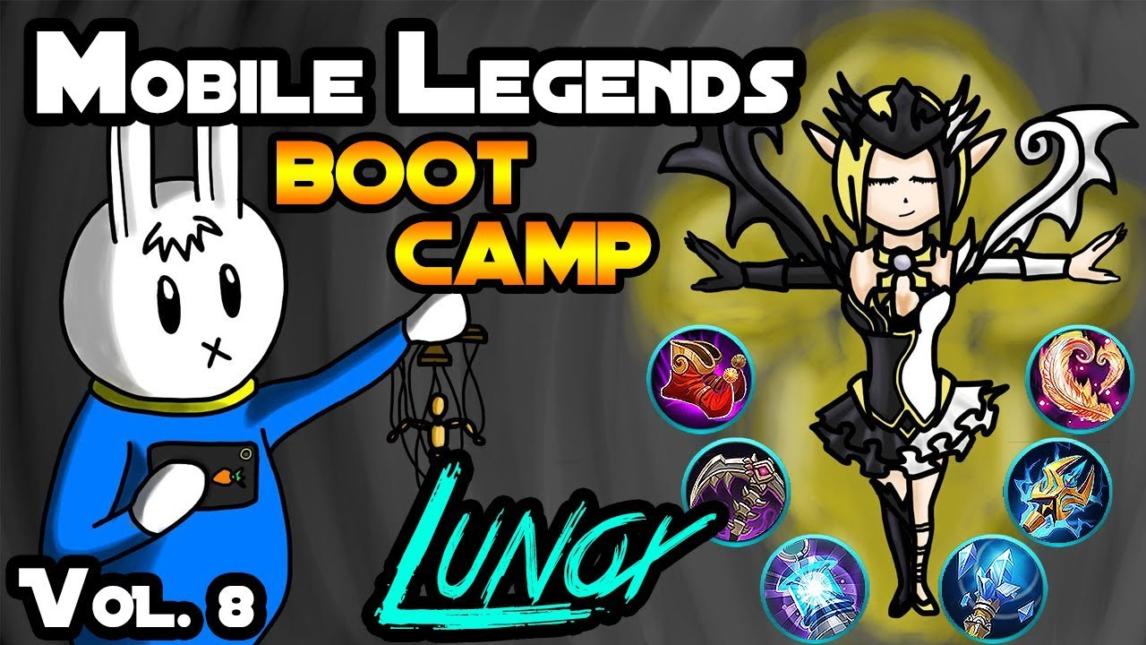 MOBILE LEGENDS BOOT CAMP VOLUME 8 LUNOX TIPS ITEMS