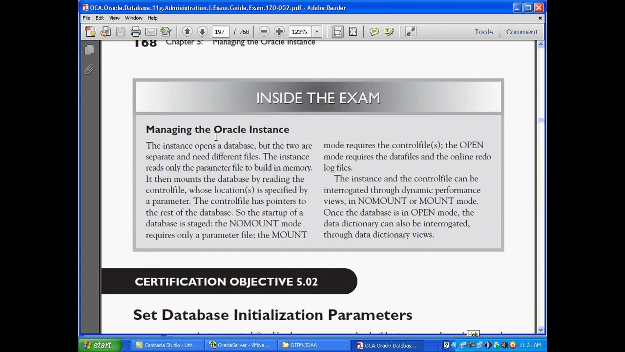 Oracle 11g dba bangla tutorial ch54 manage the oracle instance oracle 11g dba bangla tutorial ch54 manage the oracle instance by em database management system baditri Choice Image