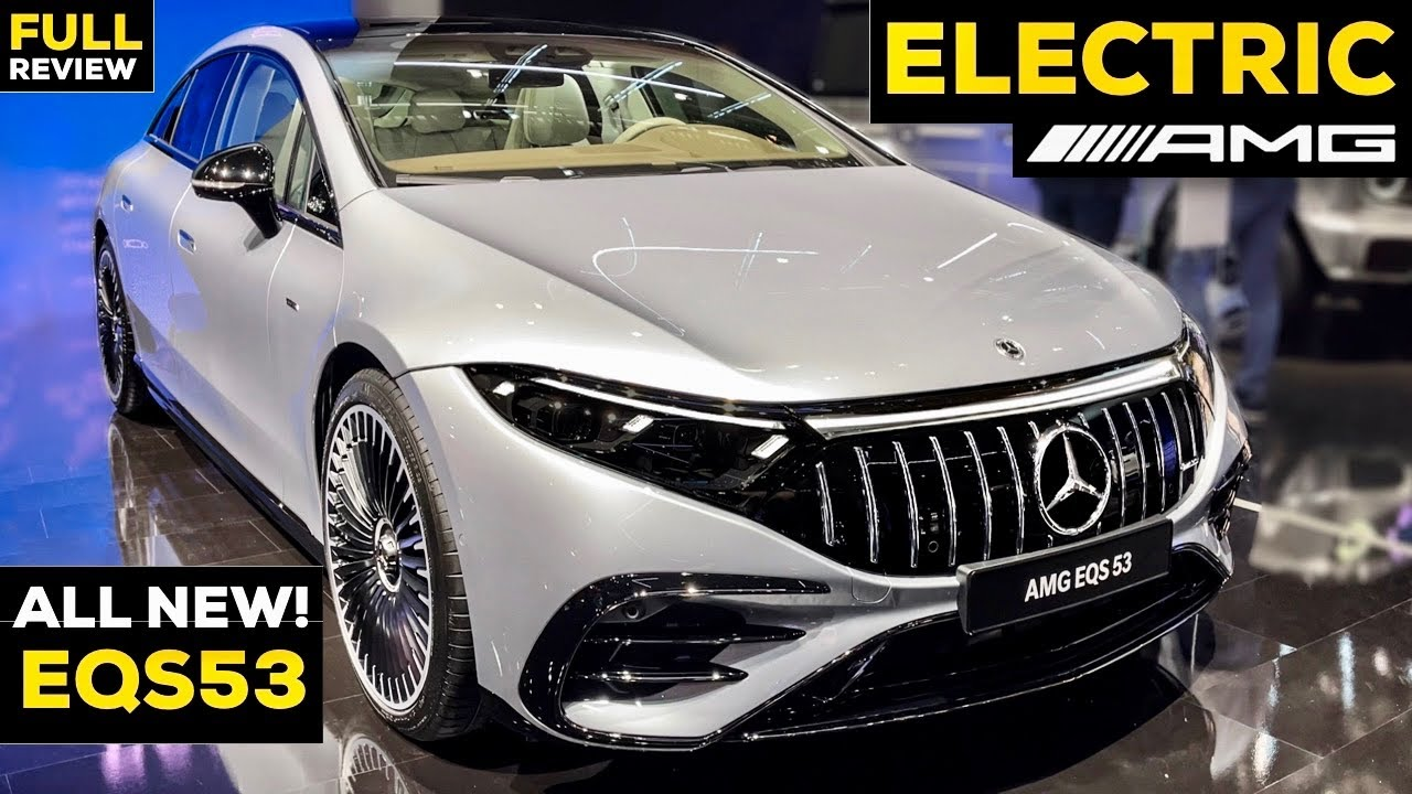 2022 MERCEDES AMG EQS 53 NEW All ELECTRIC AMG S Class FULL Review Exterior Interior MBUX 4MATIC+