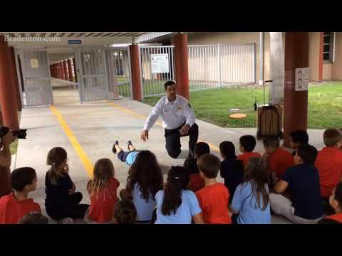 East Manatee Fire Rescue provides refresher at Braden River Elementary School