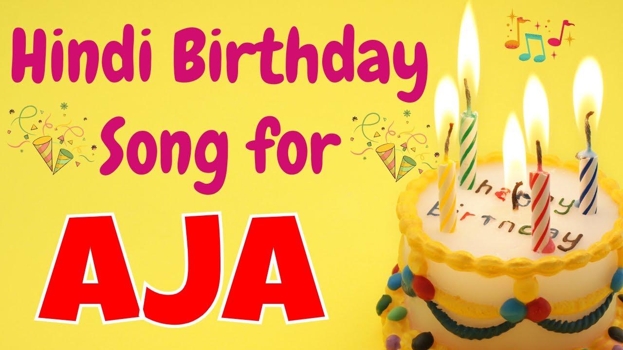 Happy Birthday Aja Song | Birthday Song for Aja | Happy Birthday Aja Song Download