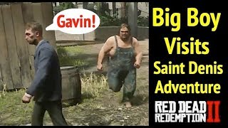 Gambar cover Big Boy Visits Saint Denis in Red Dead Redemption 2 (RDR2)