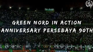 Green Nord In Action Anniversary Persebaya 90th