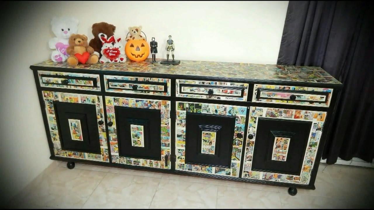 Comic Book Furniture YouTube