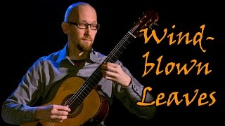 Windblown Leaves, for classical guitar (New Century Guitar)
