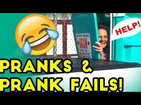 TRY NOT TO LAUGH #1 | Funny Pranks videos | compilation best pranks (ROFL)
