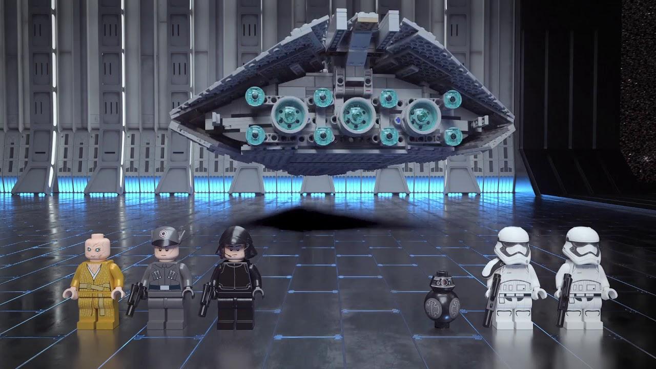 First Order Star Destroyer Lego Star Wars 75190