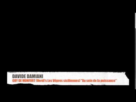 DAVIDE DAMIANI sings the Aria