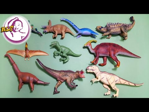 學習不同的恐龍名稱 |TAKARA TOMY ANIA Animal |