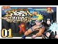Naruto Ninja Storm Trilogy - Items In A Fighting Game?! - Part 1 - 2 Player