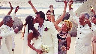 Lisa Haydon gets married to Dino Lalvani; Watch video | Filmibeat