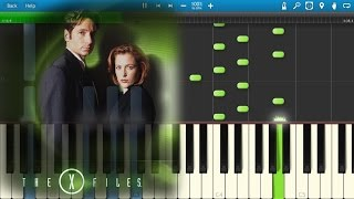 The X Files Theme [Piano Tutorial] Synthesia