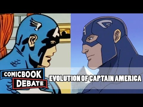 Evolution of Captain America in Cartoons in 14 Minutes (2018)