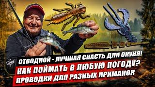Отводной поводок лучшая снасть на окуня Где стоит рыба осенью какие приманки хорошо работают