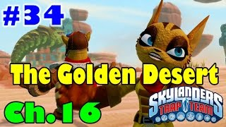 Skylanders Trap Team Part 34 Chapter 16 The Golden Desert Part 1