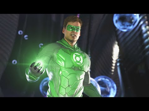 Injustice 2: Green Lantern (Hal) Vs All Characters | All Intro/Interaction Dialogues & Clash Quotes