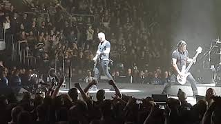 Metallica, Live, Mannheim SAP Arena, 16.02.2018, Part 1, The Ectasy of Gold, Hardwired, Atlas Rise,