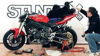 Замена звезд и цепи на мотоцикле
