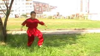 Мальчик показывает кунг-фу(Ката пьяного мастера., 2011-10-02T18:57:24.000Z)