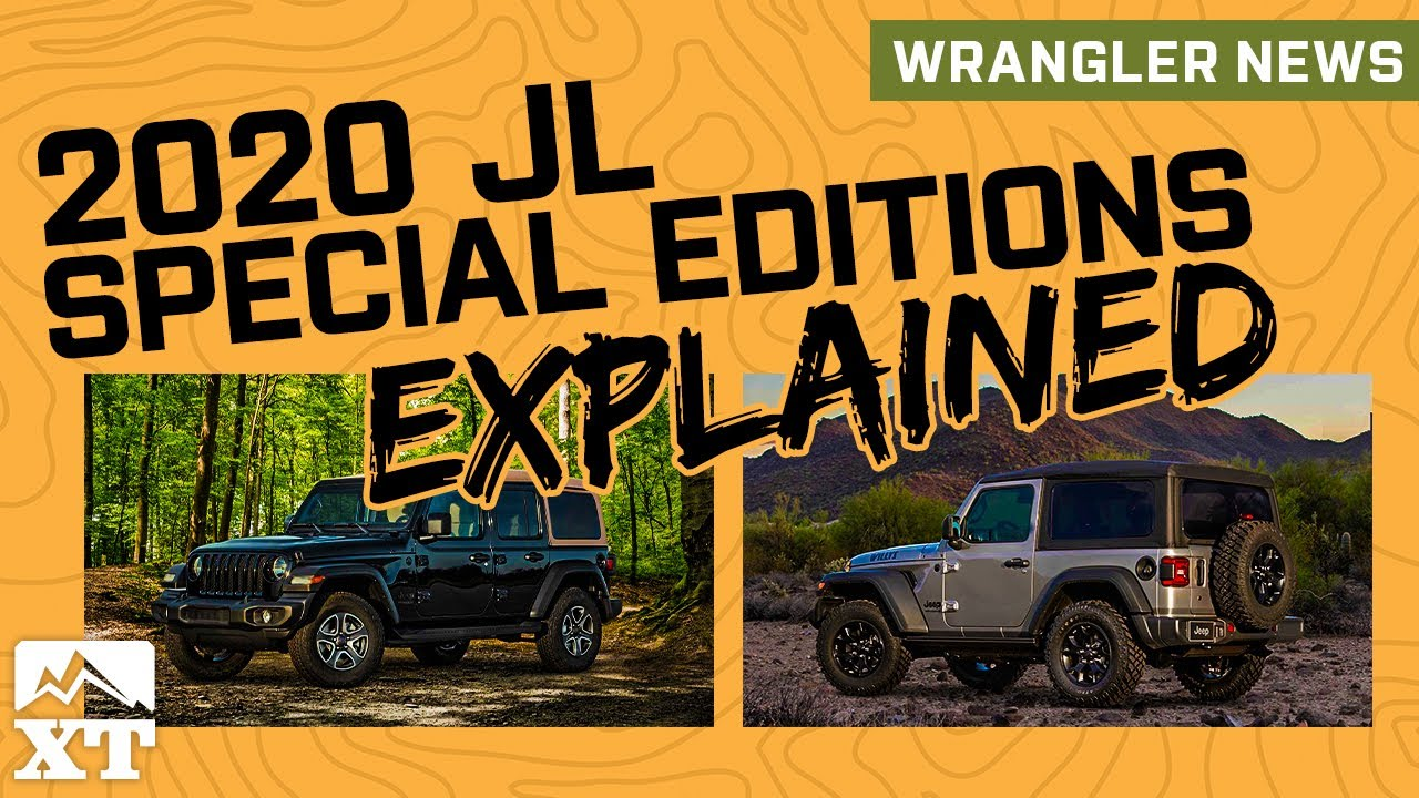 JL Diesel Horsepower | 2020 Jeep Wrangler Willys and Black & Tan Edition  Announced- Jeep News