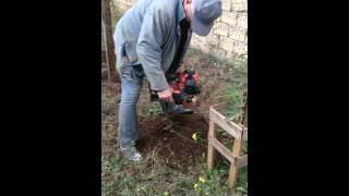 видео Бензобур - Мотобур