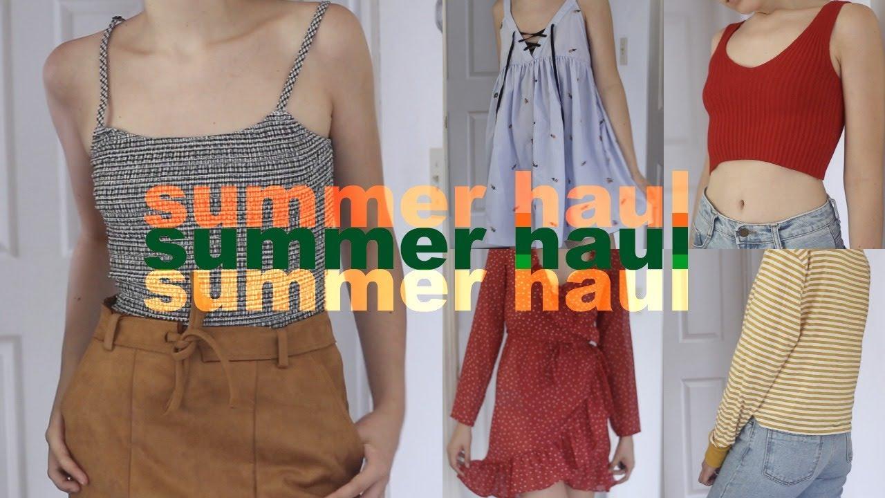 2245450b5e HUGE Summer Try-On Haul