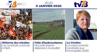 7/8 Le journal. Edition du jeudi 9 janvier 2020