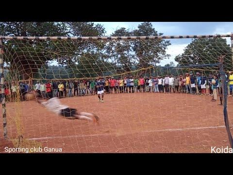 Sporting club Ganua Vs koida // jajang //best player  penalty shutout // 7th famous players ll