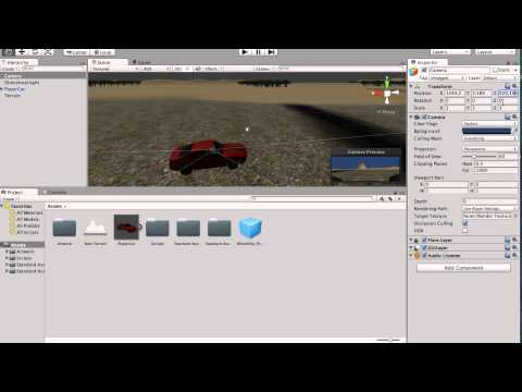 unity how to make simple town