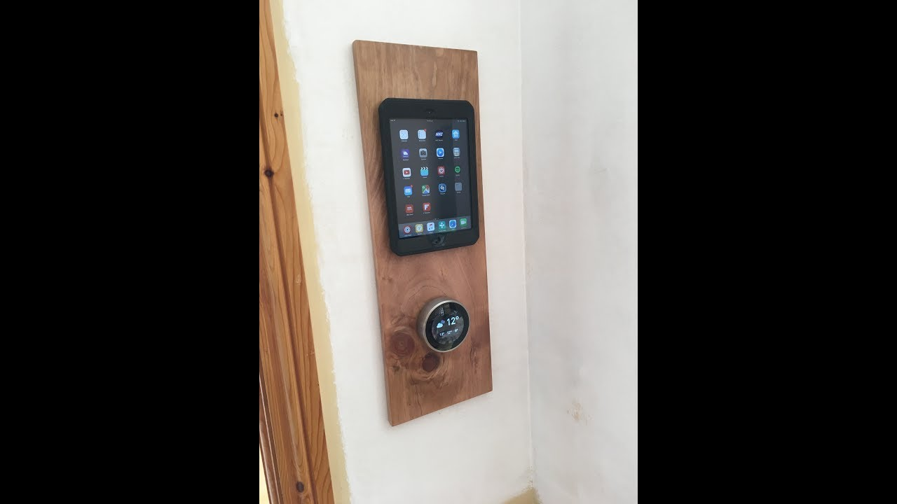 Ipad Magnetic Wall Mount With Wireless Charging Youtube