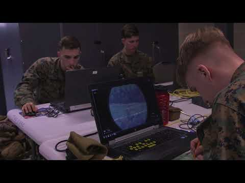 Exercise Nordic Frost 18- Virtual Call for Fire Training