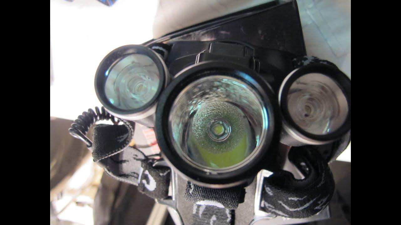 Светодиодные налобные фонари! Новые Китайские налобные ...