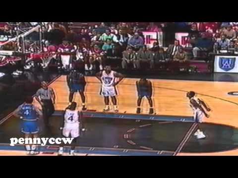 NBA Greatest Duels: Allen Iverson vs. Penny Hardaway (1997) *Rookie AI