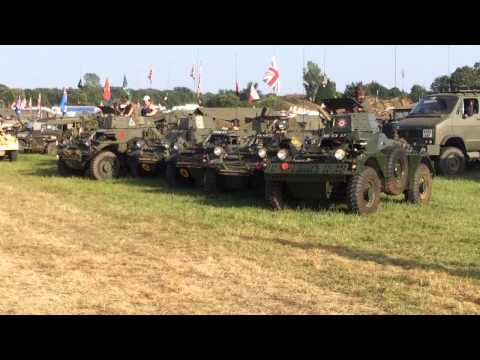 Ferret Armoured cars  at war and peace show 2014