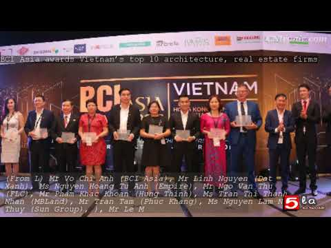 BCI Asia awards Vietnam's top 10 architecture, real estate firms
