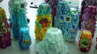 Декоративные свечи(Видео о создании декоративных свечей. Наша группа: https://vk.com/seva_group Изготовление декоративных свечей: http://desig..., 2015-07-08T10:19:36.000Z)